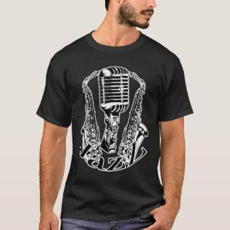 Jazz ~ Saxophone Sax Microphone Music T-Shirt