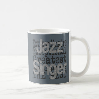 Jazz Singer Extraordinaire Coffee Mug
