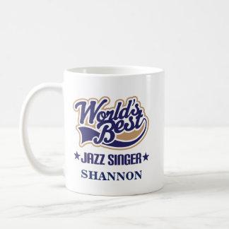 Jazz Singer Personalized Mug Gift