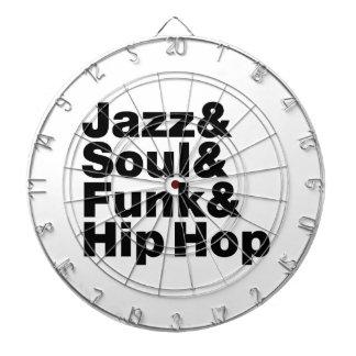 Jazz & Soul & Funk & Hip Hop Dart Boards