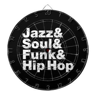 Jazz & Soul & Funk & Hip Hop Dartboards