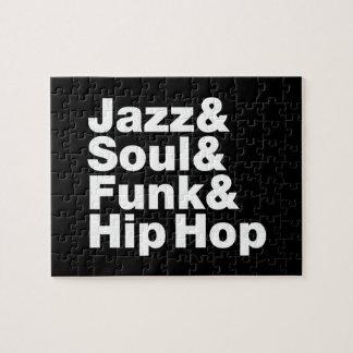 Jazz & Soul & Funk & Hip Hop Jigsaw Puzzle