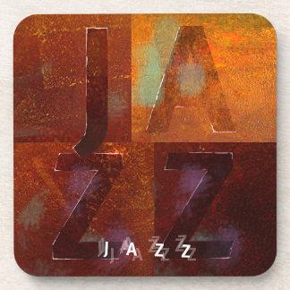 """Jazz (""""Squares"""" Design) Coaster"""