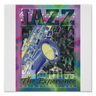 JAZZ The Experience Poster