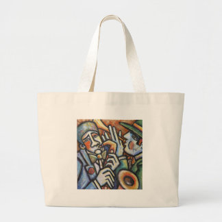 Jazz TIme Large Tote Bag