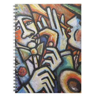Jazz TIme Spiral Note Book