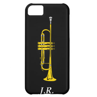 Jazz Trumpet add your Initials case-mate  Iphone4 iPhone 5C Case