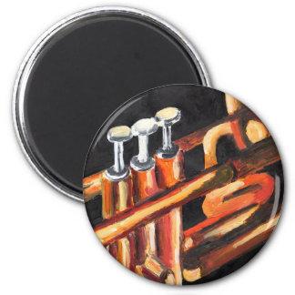 Jazz Trumpet Magnet
