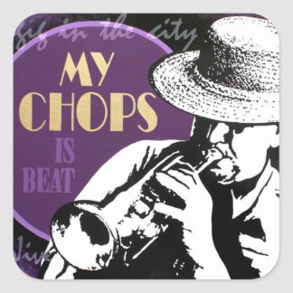 Jazz Trumpet Player sticker