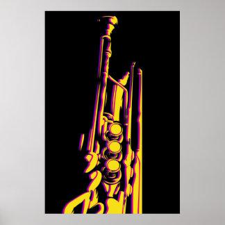 Jazz Trumpet Poster