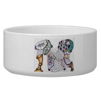 Jazz up your dog or cat's dish! pet water bowl