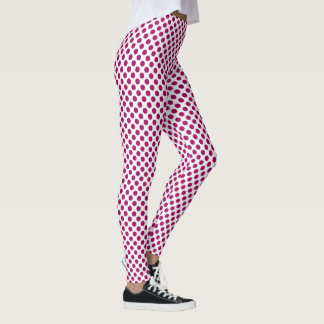 Jazzberry Jam Polka Dots Leggings