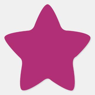Jazzberry Jam Purple Star Sticker