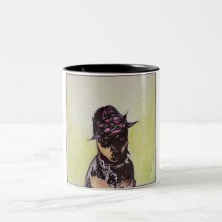 Jazzie Frannie the Miniature Pinscher Mug