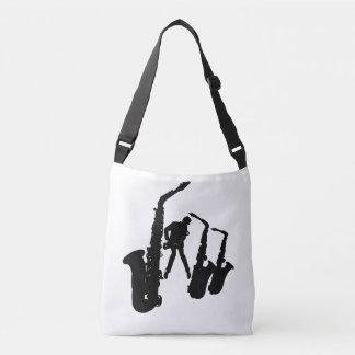 Jazzman Black Silhouette Sax Jazz Bag 1