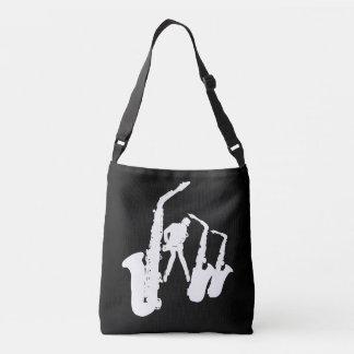 Jazzman White Silhouette Sax Bag 1