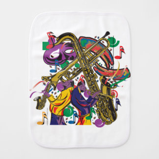 JAZZy Burp Cloth