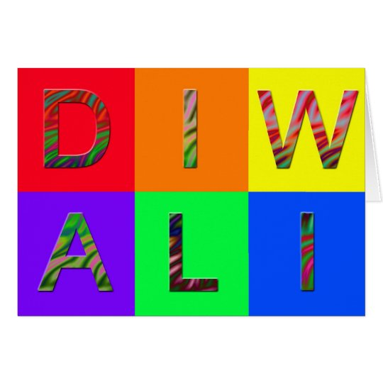 Jazzy Diwali Card