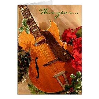 Jazzy Little Christmas card