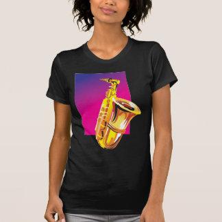 Jazzy Saxophone Tee Shirts