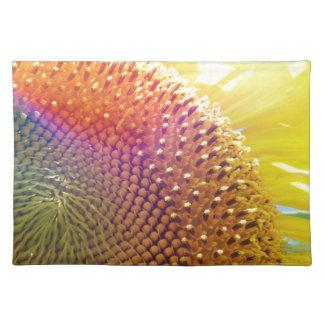 jazzy sunflower placemat