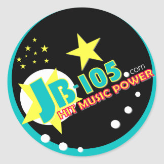 JB-105 HIT MUSIC POWER STICKERS