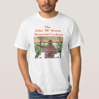 JB Memorial Cookout Tee Shirt