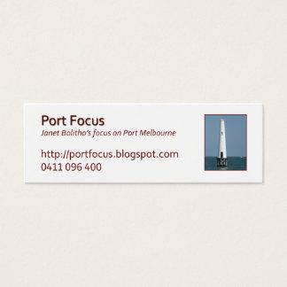 jbProfileBeaconTownPier Mini Business Card