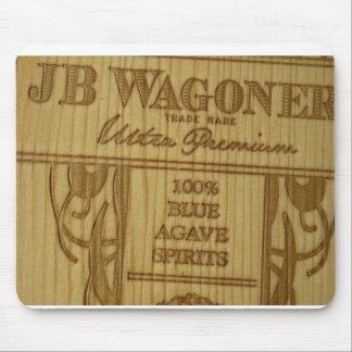 JBW Woodgrain Mousepad