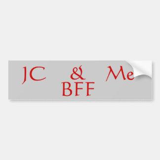 JC BFF Bumper Sticker