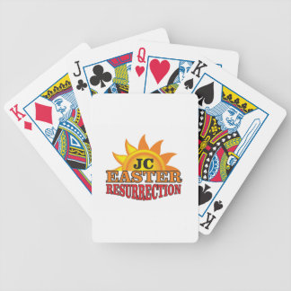 jc easter ressurection poker deck