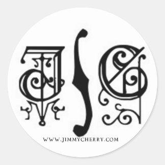 JC Gothic Logo Sticker