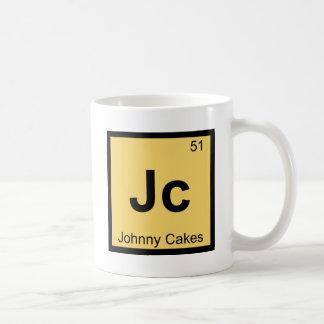 Jc - Johnny Cakes Chemistry Periodic Table Symbol Coffee Mug
