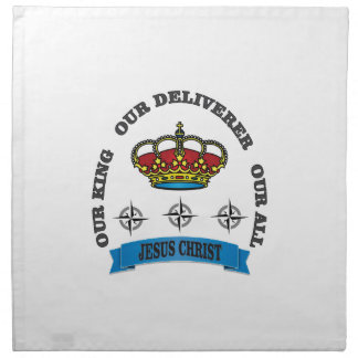 jc king deliver all arch napkin