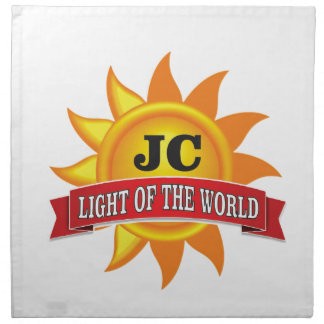 jc light of the world napkin