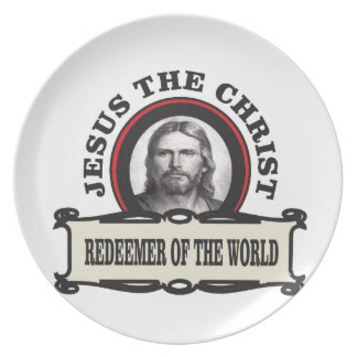 JC redeemer of the world Plate