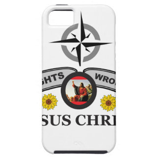JC rights wrongs iPhone 5 Cover