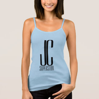 JC SuperStar - in blue with crown #5 Singlet