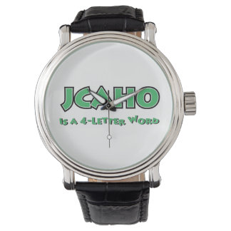JCAHO is a 4-Letter Word Wrist Watches