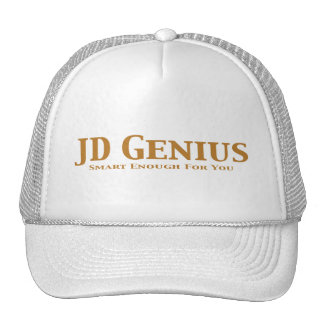 JD Genius Gifts Trucker Hat