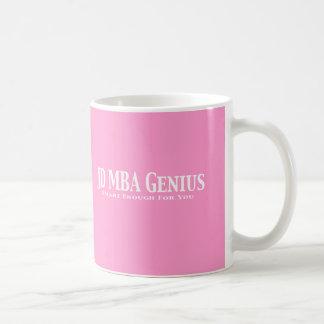 JD MBA Genius Gifts Mugs