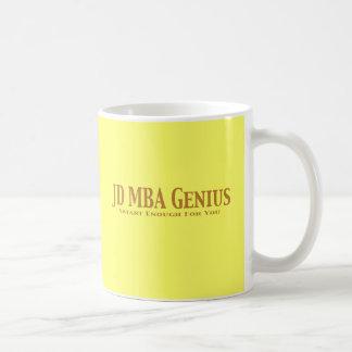 JD MBA Genius Gifts Mug