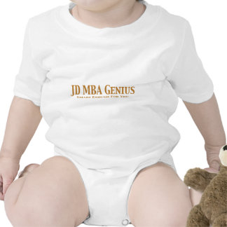 JD MBA Genius Gifts T-shirt