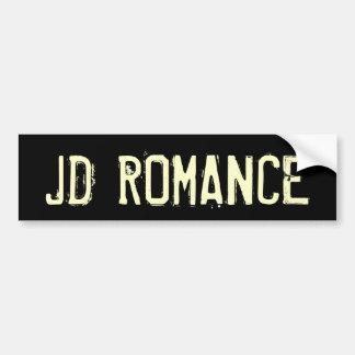 JD ROMANCE BUMPER STICKERS