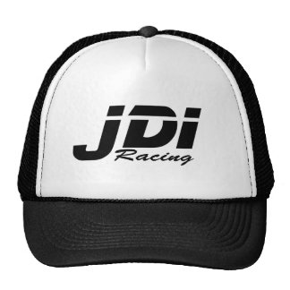 JDI Trucker Hat- Black Logo Cap