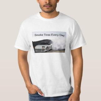 JDM Nissan 240sx S13 Smoke Tires Every Day Shirts