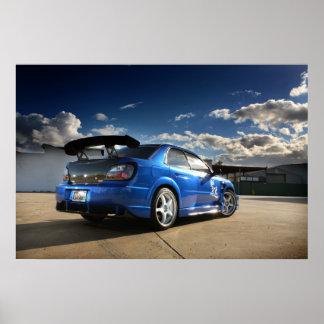 JDM Subaru WRX - Poster