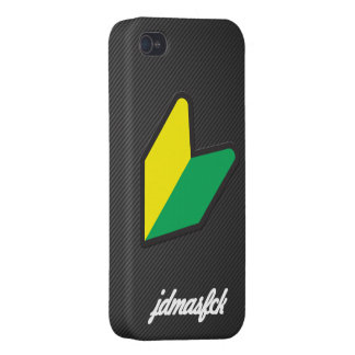 jdmasfck cursive iPhone 4 cover