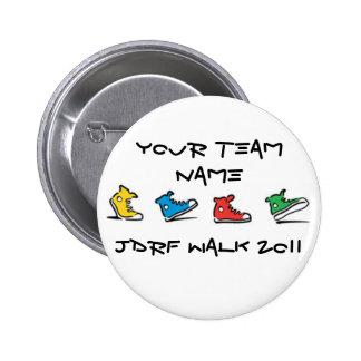 JDRF Walk 2011 Button