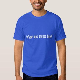 Je bent een stoute hond! t shirt